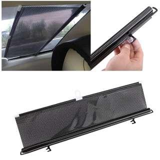 Auto Retractable Car Curtain Rear Window Shade Windshield Sunshade Shield Visor