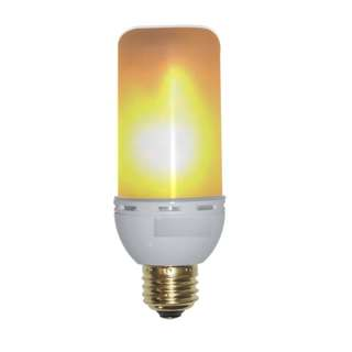 32. Decorative Lamps Industrial Searchlight Table Lights (Flame Effect Bulbs)