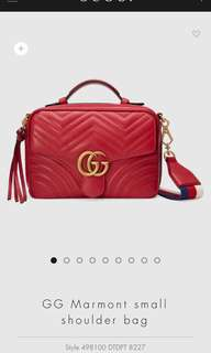 Gucci GG Marmont small bag