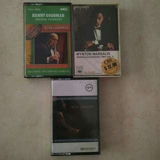 Jazz Music Cassette Tapes