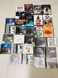 CD DVD 不散放 不議價 Ventures Liverpool John Lennon Pet Shop Boys 日版 膠側紙 林海峰Artofnoise