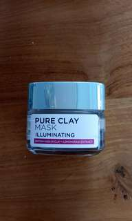 PRELOVED! L'Oréal Pure Clay Mask Illuminating
