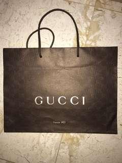 Gucci paperbag