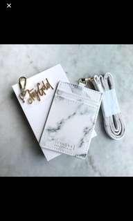 Sephora - Marble Cardholder/ Lanyard
