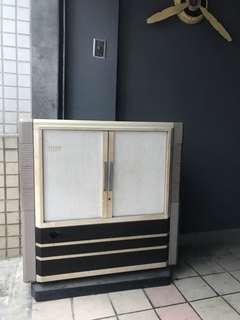 🚚 「早期電視可過電」 早期 古董 復古 懷舊 稀少 有緣 大同寶寶 黑松 沙士 鐵件 40年 50年