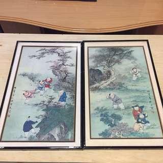 Chinese Painting x 2