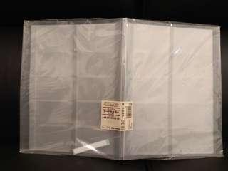 Muji 卡片簿 A4 型狀 100 格
