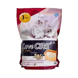 LoveCat Soybean Litter