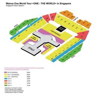 [wtt] wanna one - one: the world ticket