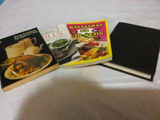 Cook Books (set of 4)