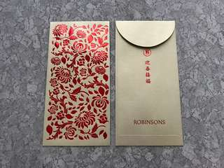 2pcs Robinsons (SG) red packet / ang pow pao