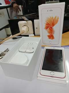 Dijual Cepat Apple Iphone 6s 64GB Rose Minat Hub Wa