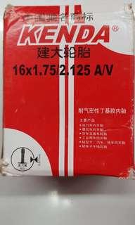Kenda tube 16x1.75/2.125 AV