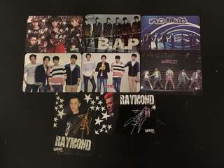 Yes card B.A.P SJ CNBLUE SHINEE 林峰