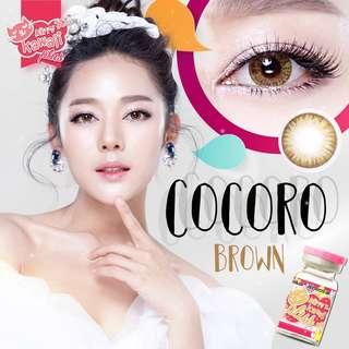 Cocoro contact lenses