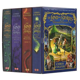 The Land of Stories 1-4