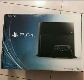 Used Sony PS4 + FIFA18