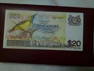 Singapore Bird Series $20.