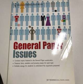 ALEVEL GENERAL PAPER ISSUES