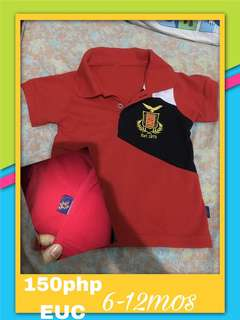 Polo shirt for baby boy(removed tag ayaw ni baby)