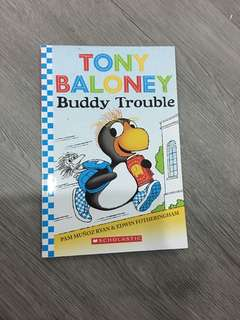Tony baloney buddy trouble