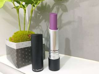 MAC Seasoned Plum Lipstick