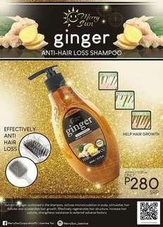 Merry Sun Ginger Anti-Hairfall Shampoo