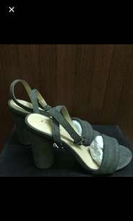 Zalora rounded block heels