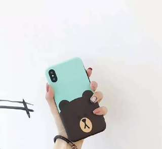 LINE Friends Brown Bear Phone Case - Available for Iphone 7/8 & Plus