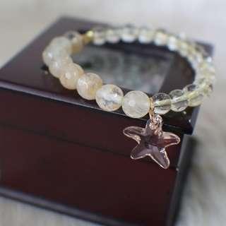 🦄 (Customized item) Summer Sunshine Bracelet (Citrine Gemstone)