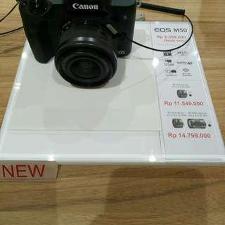 Kredit Canon M50. Proses Acc 3 Menit