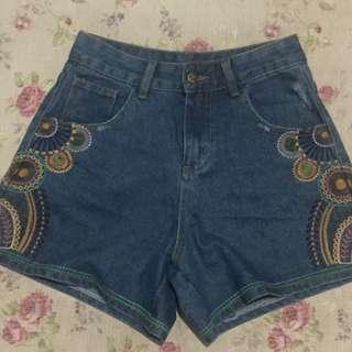 High waist shorts(size 28)