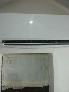 美的分體式冷氣機