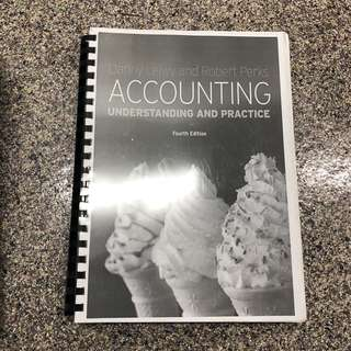 Danny Leiwy and Robert Perks Accounting Understanding and Practice SIM UOL textbook 4th Edition
