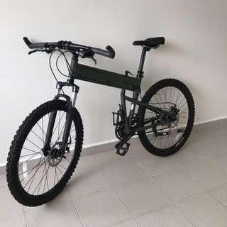 Montague paratrooper mountain bike foldie folding bicycle