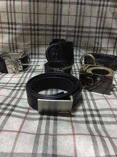 Take all authentic branded belts guess, giordano, london pieces, paris hilton
