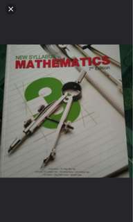 New Syllabus Mathematics 7th Edition Sec 3 textbook
