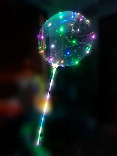 LED Transparent Bubble Balloon