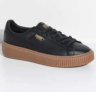 Puma Basket Platform Shoes