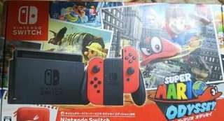 Brand new Nintendo switch super mario odyssey bundle SMO
