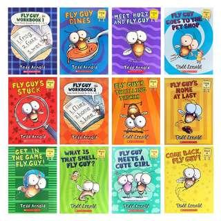 Fly Guy Phonics (12 books)