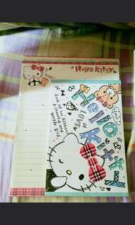 Hello Kitty 信紙信封系列