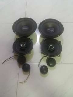 Power M + Speakers for car