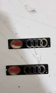 Car Stickers- Audi stickers A4 A5 A6 TT R8