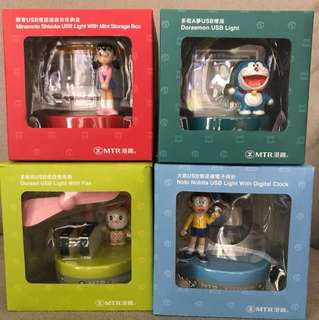 MTR Doraemon Souvenir / 港鐵 多啦A夢 限量紀念品 / Office擺設 / Doraemon decorative items / 叮噹