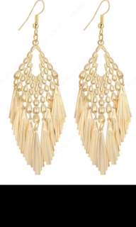 Tassle Drop Earrings