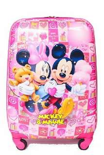 "Mickey and Minnie 18"" Luggage"