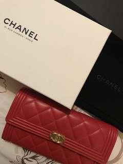 🚚 正品全新Chanel長夾(朋友託售)