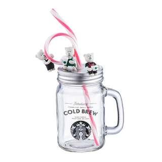 Starbucks 20週年 冷萃玻璃杯