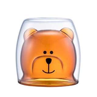 Starbucks 熊熊 玻璃杯
